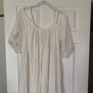 Maurices midi 3/4 sleeve off the shoulder dress